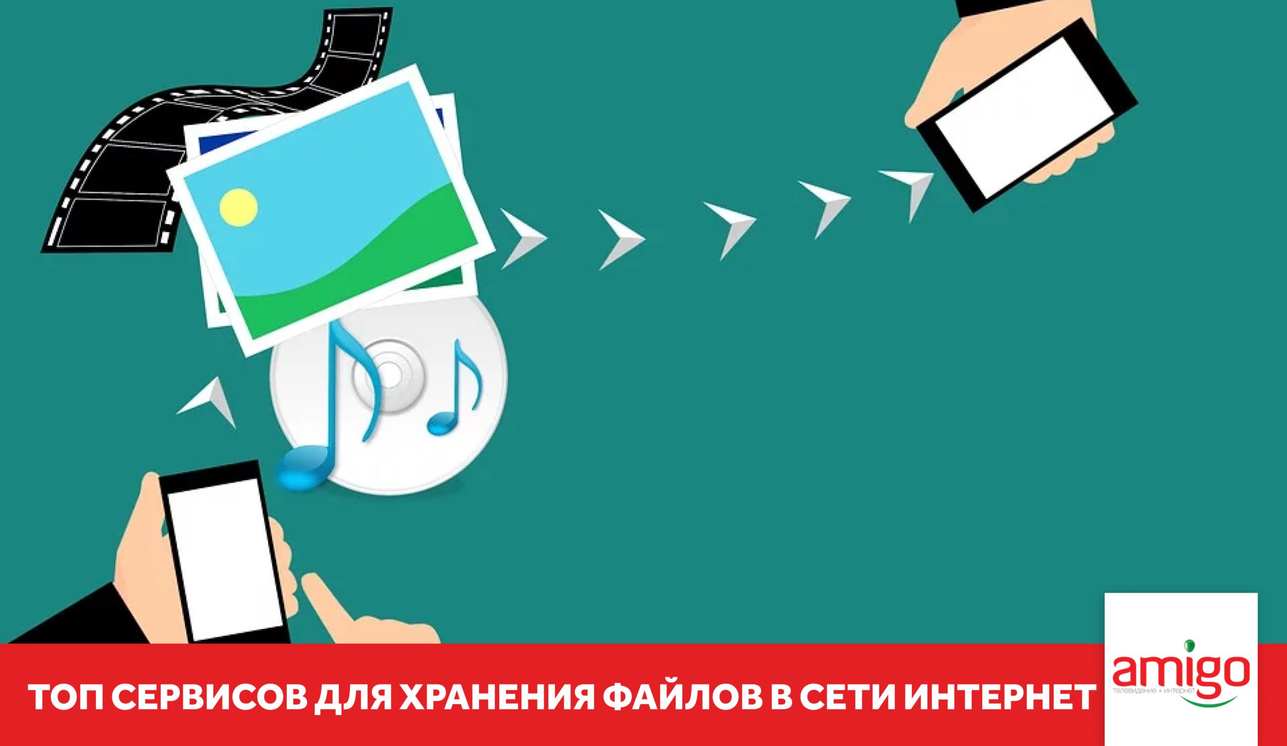 Топ сервисов для хранения файлов в сети Интернет